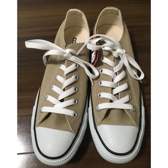 CONVERSE(コンバース)のコンバース  ベージュ ローカット レディースの靴/シューズ(スニーカー)の商品写真