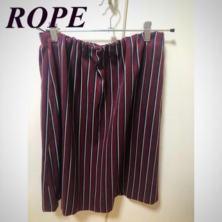 ロペ(ROPE)のROPE ストライプスカート(ひざ丈スカート)