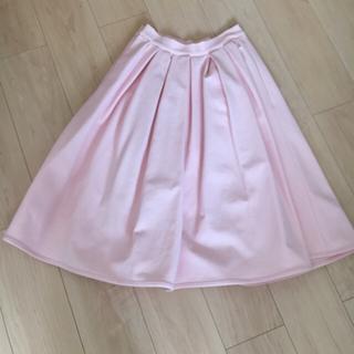 ルシェルブルー(LE CIEL BLEU)のルシェルブルー ミモレスカート(ひざ丈スカート)