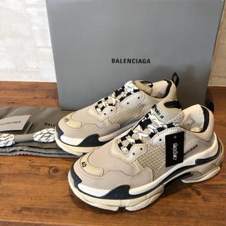 Balenciaga - 新品 100%本物 【40】BALENCIAGA triple S