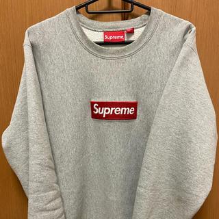 Supreme - supreme box logo crewneck【20・21日期間限定値下げ】