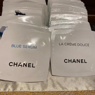 シャネル(CHANEL)のシャネル ラクレームドウース30包 ブルーセラム30包(乳液/ミルク)