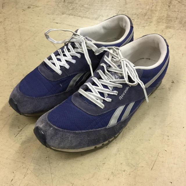Reebok(リーボック)のvintage リーボック スニーカー ネイビー アメリカ仕入れ 海外モデル レディースの靴/シューズ(スニーカー)の商品写真