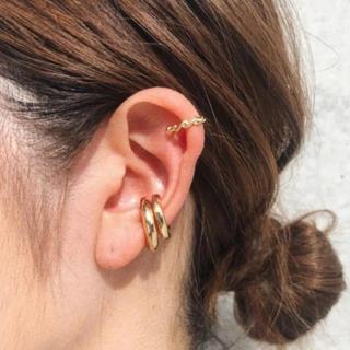 LOWRYS FARM - Ring gold earcuff No.88