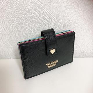 Victoria's Secret - セール品!ヴィクシーカードケース/ブラックレインボー