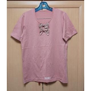 ピンクハウス(PINK HOUSE)のピンクハウス   リボン付き半袖Tシャツ(Tシャツ(半袖/袖なし))