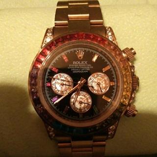デイトナ レインボー 腕時計