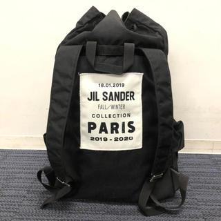 ジルサンダー(Jil Sander)の今日まで値下げ!19AW 定価16万円 JIL SANDER バックパック(バッグパック/リュック)