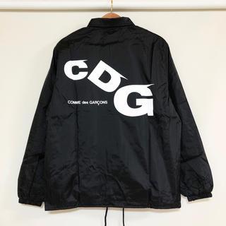 コムデギャルソン(COMME des GARCONS)の最新作!新品 送料込 コムデギャルソン CDG ドロップロゴ コーチジャケット(ナイロンジャケット)