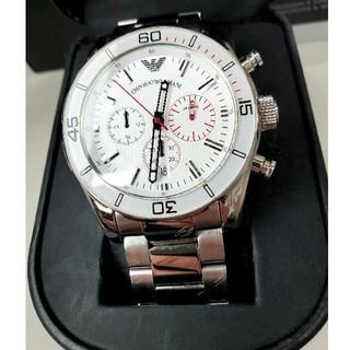 Armani - AR5932 ダイバーズ 良品 エンポリオ・アルマーニ メンズ腕時計