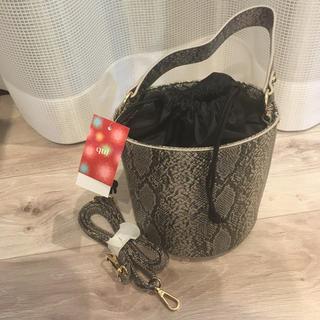 しまむら - 【新品】バケツ型バッグ
