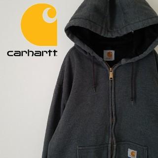 carhartt - カーハート パーカー オーバーサイズ フーディ ワンポイントロゴ 裏地メッシュ
