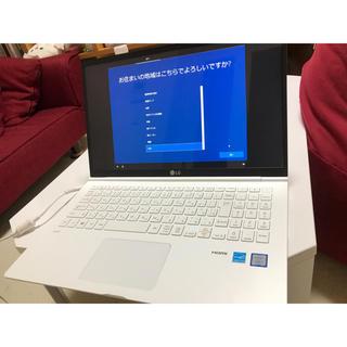 エルジーエレクトロニクス(LG Electronics)の【大幅値下げ】LG gram 15.6インチ(ノートPC)