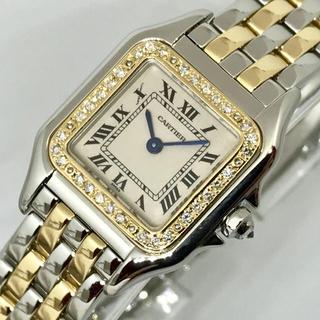 Cartier - ★新品仕上げ済み★カルティエ パンテール SM K18コンビ 天然ダイヤモンド
