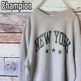 チャンピオン(Champion)のチャンピオン ニューヨーク プリント スウェット トレーナー M(スウェット)