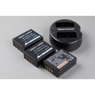 富士フイルム - 富士フイルム NP-W126S 純正品×1、社外品×2、充電器