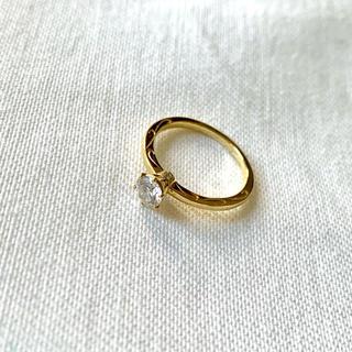 アーカー(AHKAH)のアーカー ペーメ AHKAH PEME K18 ダイヤモンドエンゲージリング(リング(指輪))