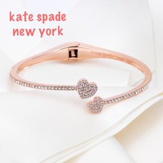 kate spade new york - 【新品¨̮♡︎】ケイトスペード ハート バングル