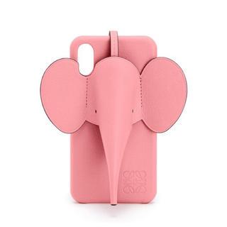 ロエベ(LOEWE)の新作✨LOEWE ロエベ エレファント iphone X ケース ゾウ ぞう (iPhoneケース)