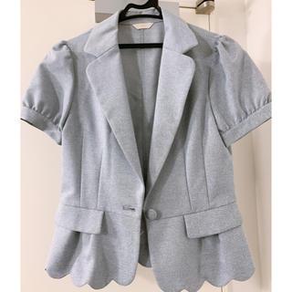パターンフィオナ(PATTERN fiona)のRAMUさん パターンフィオナ 半袖ジャケット(テーラードジャケット)