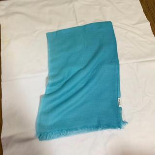 フルラ(Furla)の新品未使用 FURLA ブルーのストール(ストール/パシュミナ)