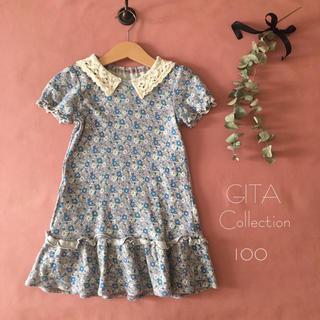 ベルメゾン - GITA Collectionジータコレクション|レース襟ワンピース*̩̩̥୨୧