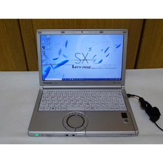 Panasonic - 訳あり レッツノート CF-SX4 i7 SSD128G メモリ8G Win10