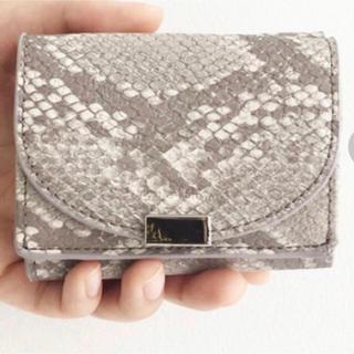 レガートラルゴ(Legato Largo)の新品未使用 Legato Largo 三つ折り財布(財布)