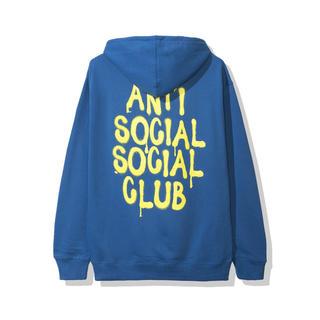 アンチ(ANTI)のASSC アンチソーシャルソーシャルクラブ パーカー L 19AW 未開封(パーカー)