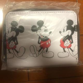SHIPS - mini 12月号付録 ミッキー 二つ折り財布