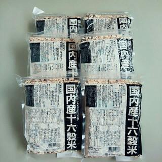 種商 国内産十六穀米 業務用 500g  ×6(米/穀物)