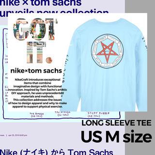 ナイキ(NIKE)の【US Mサイズ】NIKE/TOM SACHS LONG SLEEVE TEE(Tシャツ/カットソー(七分/長袖))