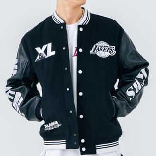 XLARGE - NEWERA×NBA×XLARGE LAKERS STADIUM JACKET