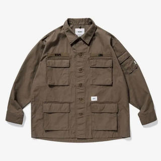 W)taps - 19AW WTAPS JUNGLE LS SHIRT Lサイズ