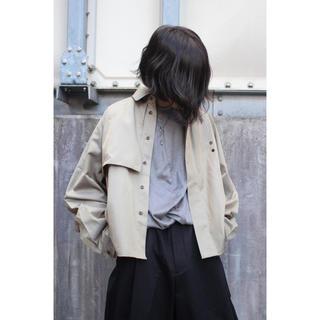 ジエダ(Jieda)のJieDa TRENCH SHIRT 2020SS カーキベージュ サイズ2(シャツ)