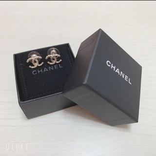 CHANEL - シャネル♡ピアス♡ココマーク♡CHANEL♡ほぼ未使用