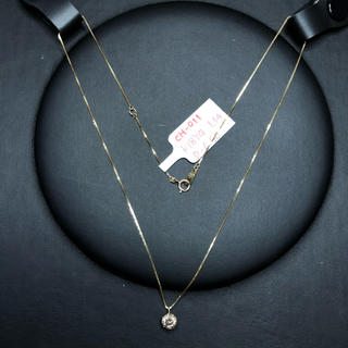 NC-011 K18YG ネックレス ダイヤモンド AANI アニ
