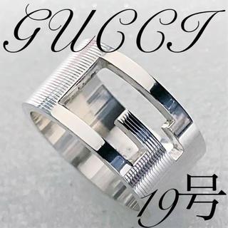 Gucci - 美品 GUCCI ワイドタイプ‼️指輪 19号