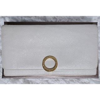ブルガリ(BVLGARI)のブルガリ 長財布 ホワイト(財布)