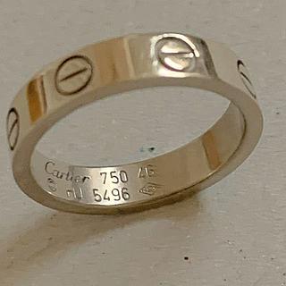 カルティエ(Cartier)のK18 カルティエ  ラブリング  リング (リング(指輪))