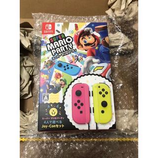 Nintendo Switch - 【新品!】スーパーマリオパーティ 4人で遊べるJoy-Conセット Switch