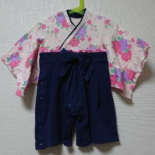 ベルメゾン - 袴 ロンパース 80センチ
