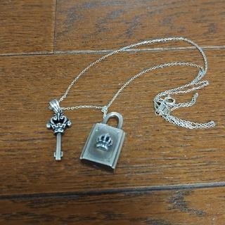 南京錠ペアネックレス silver925