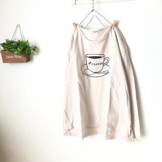 SM2 - SM2 コーヒー柄カットソー