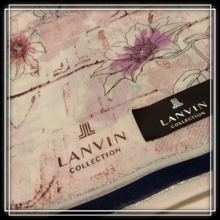 LANVIN COLLECTION - ㉔ LANVIN 新品 大判ハンカチ  ランバン 日本製 ランチクロス お弁当包
