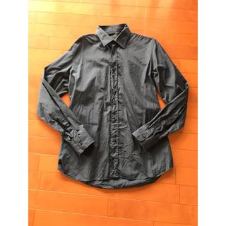 プラダ(PRADA)のPRADA プラダ メンズ シャツ 長袖 ネイビー 紺 (シャツ)