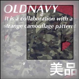 オールドネイビー(Old Navy)の❇️【OLDNAVY】カモなカーデは知的でしょ☆‼️新品未使用品‼️(カーディガン)