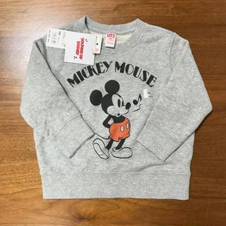 ユニクロ(UNIQLO)のユニクロ ミッキー スウェット(Tシャツ/カットソー)
