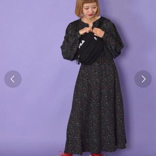 w closet - w closet ボリューム袖ワンピース