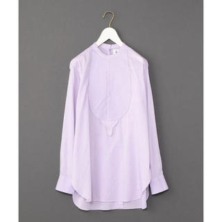 BEAUTY&YOUTH UNITED ARROWS - roku 6  コットンドビーシャツ ラベンダー